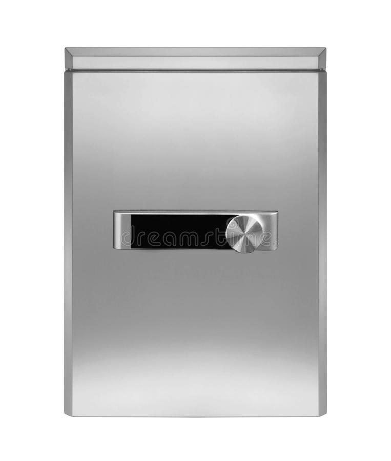 Realistic Steel safe royalty free stock photo