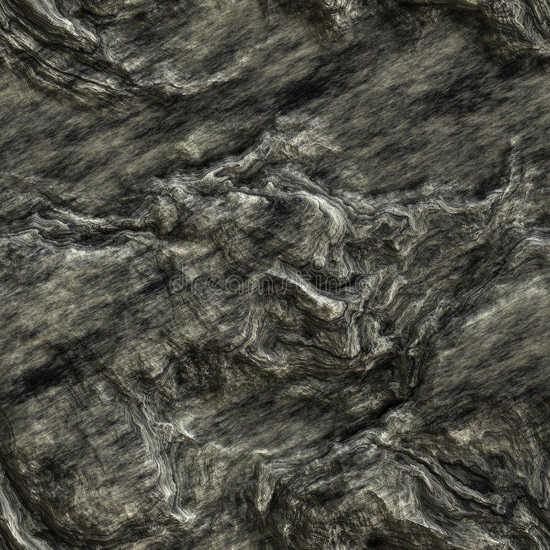 Realistic stone seamless texture royalty free illustration