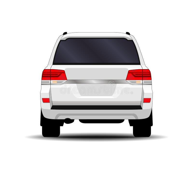 Realistic SUV car. vector illustration