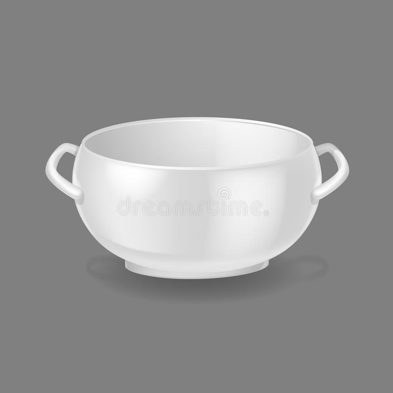 Download Realistic Template Mock-up Porcelain Ceramic Ware. Bowl For Soup. & Realistic Template Mock-up Porcelain Ceramic Ware. Bowl For Soup ...