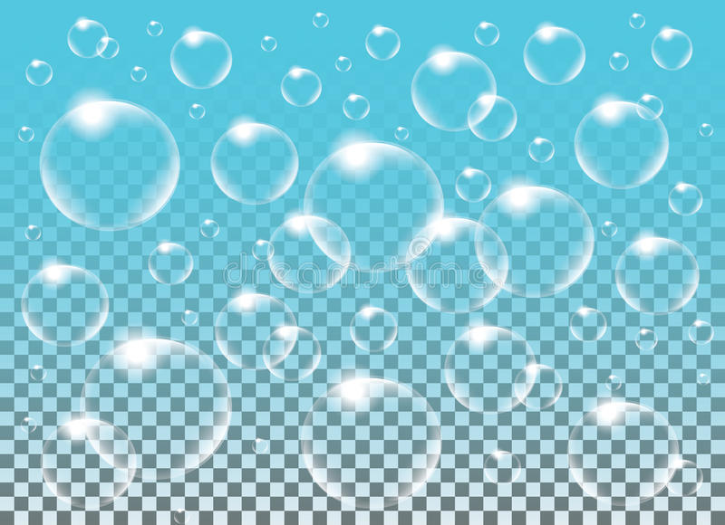 Download Realistic Vector Isolated Soap Bubbles For Decoration Stock Vector - Image: 83714533