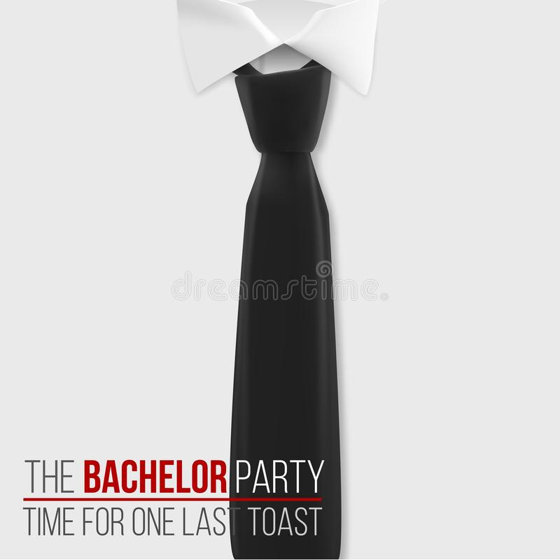 Realistic Vector White Shirt. The Bachelor Party Invitation Template ...