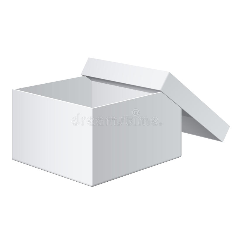 Download Realistic White Box. For Electronic Device. Vector Stock Vector - Illustration of gift, advertising: 33941450