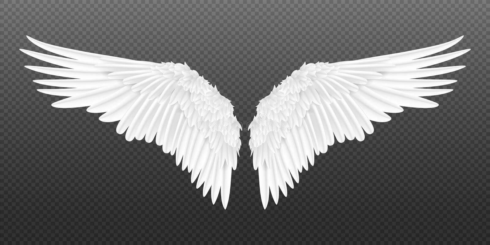 3d White Feather Tattoo