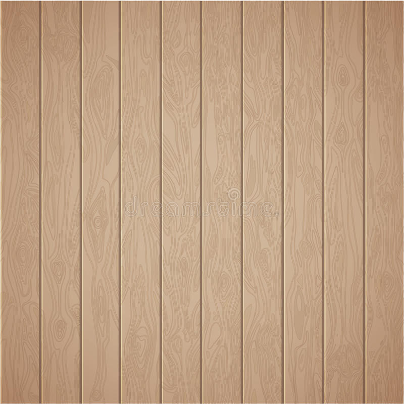 Realistic Wood Plank Template Background. Illustration Of The ...