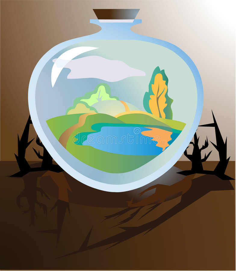 Download Realistical future stock vector. Image of environment - 3138388