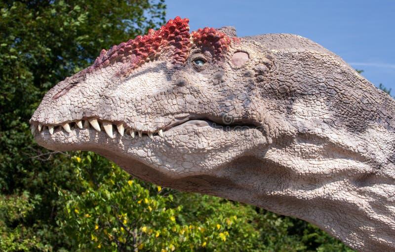 Realistisch model van dinosaurus royalty-vrije stock foto's