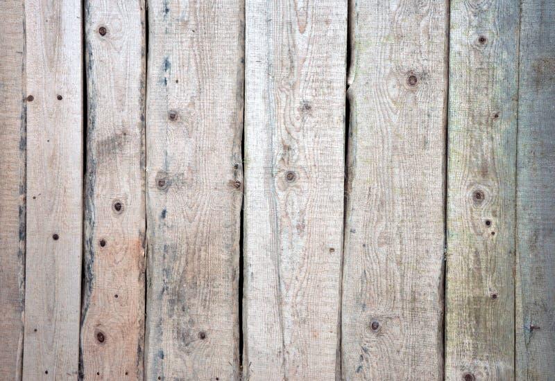 Realistische houten achtergrond Natuurlijke tonen, grunge stijl Houten Textuur royalty-vrije stock afbeelding