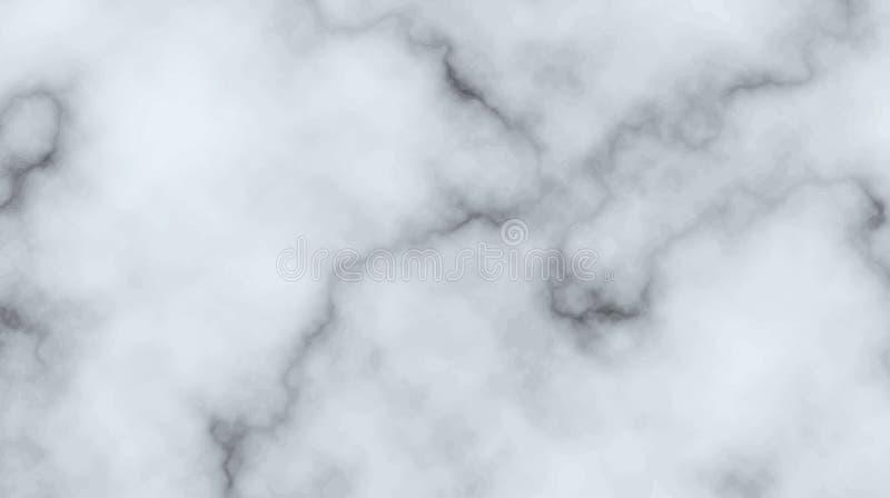 Realistische marmeren textuur Oppervlakte van graniet of marmer Abstracte vectorachtergrond stock illustratie