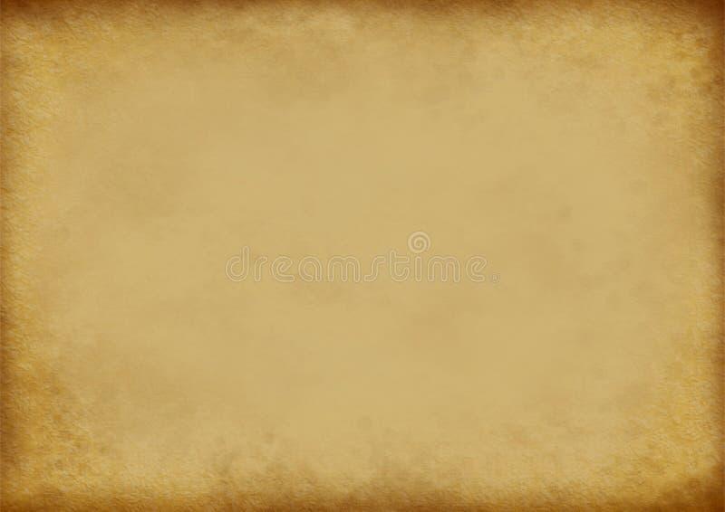 Realistische Oude Document Textuur stock illustratie