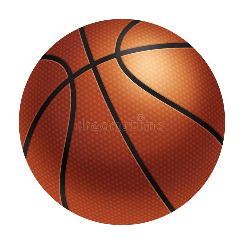 Realistischer Basketball vektor abbildung