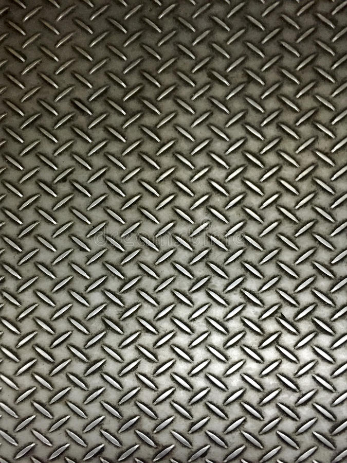 Realistischer Metallplattenboden lizenzfreie stockfotografie