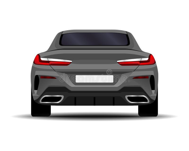 Realistisches Auto Sport-Coupé vektor abbildung