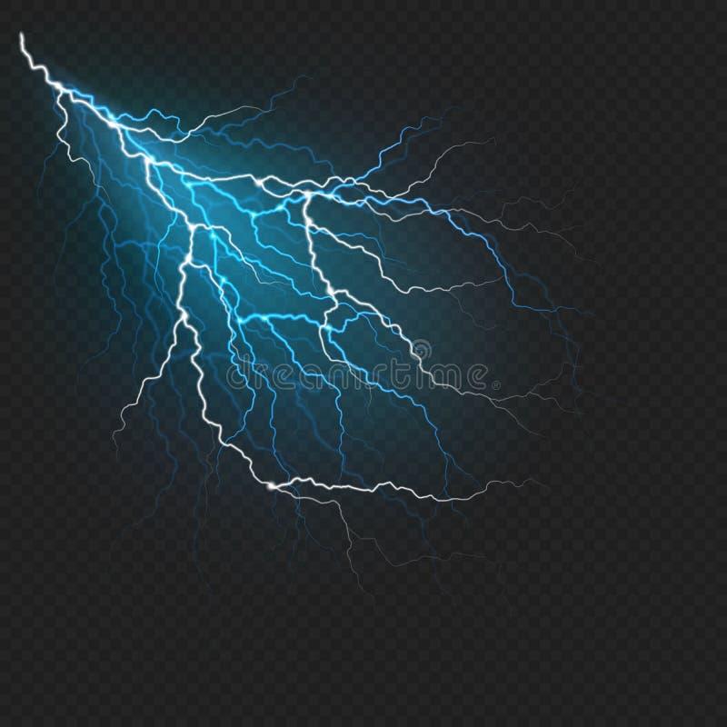 Realistisk effekt för blixtexponeringsljus 10 eps stock illustrationer