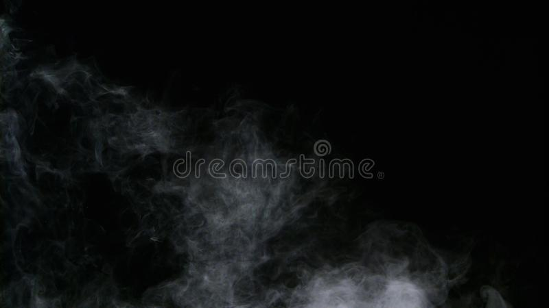 Realistisk för rökmoln för torr is samkopiering för dimma fotografering för bildbyråer