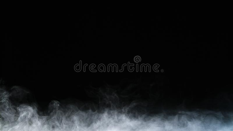 Realistisk för rökmoln för torr is samkopiering för dimma arkivbilder