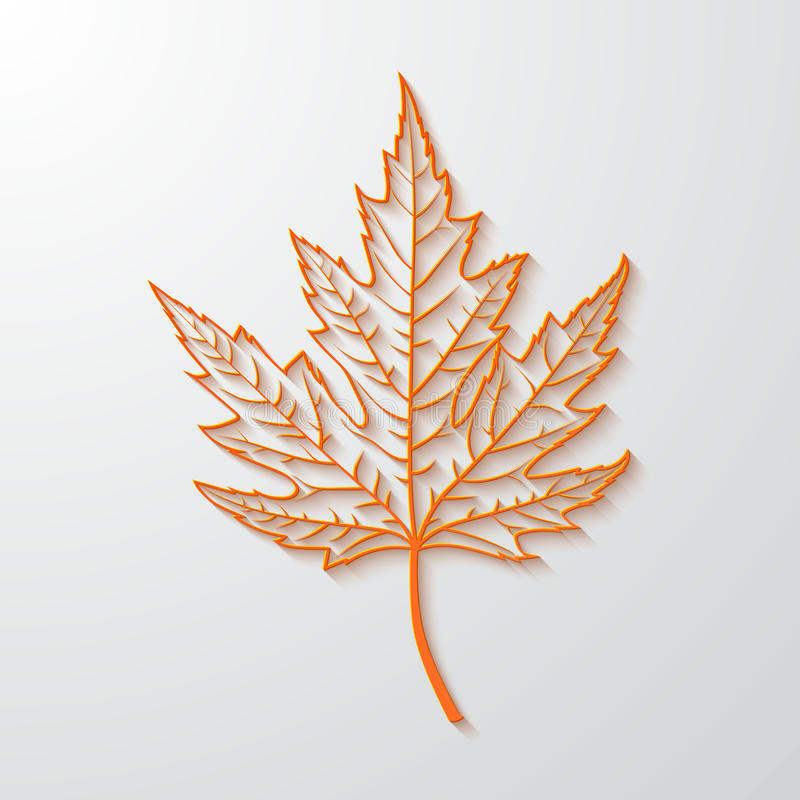 realistisk lönnlöv 3d americanen dekorerar version för vektor för set symboler för design patriotisk royaltyfri illustrationer