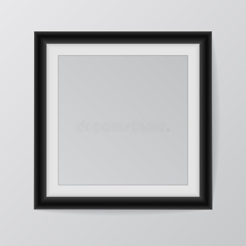 Realistisk ram Göra perfekt för din presentationsvektorillustration vektor illustrationer