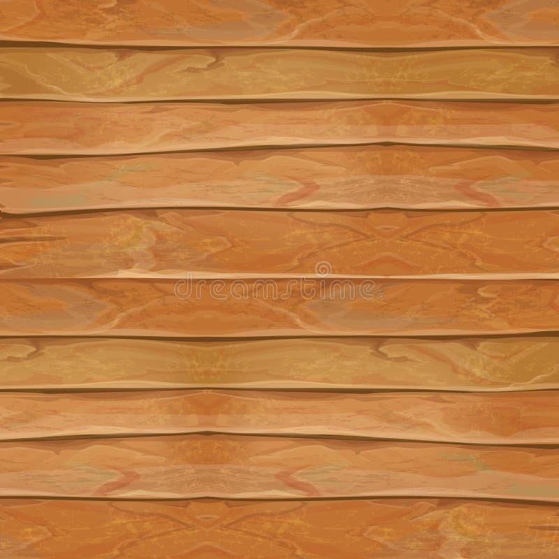 Realistisk texturillustration för trä Naturlig träbakgrundsvektor vektor illustrationer