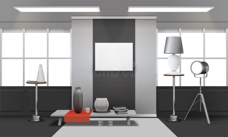 Realistisk vindinre vektor illustrationer