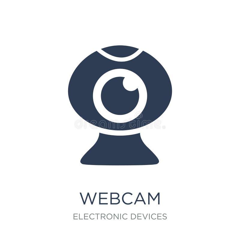 realistisk webcam för symbolsillustration  royaltyfri illustrationer