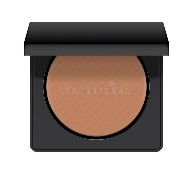 Realistiskt av fall med bronzer royaltyfri illustrationer