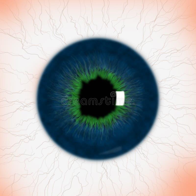 realistyczna oko tekstura ilustracji