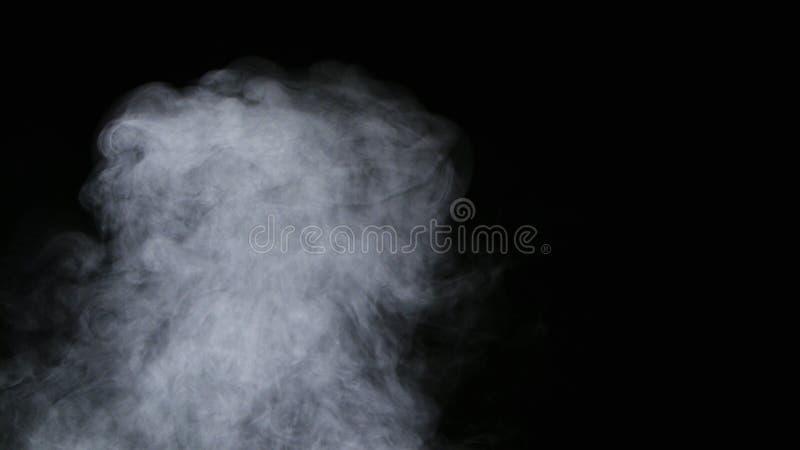 Realistyczna Suchego lodu Dymnych chmur mgły narzuta zdjęcie stock