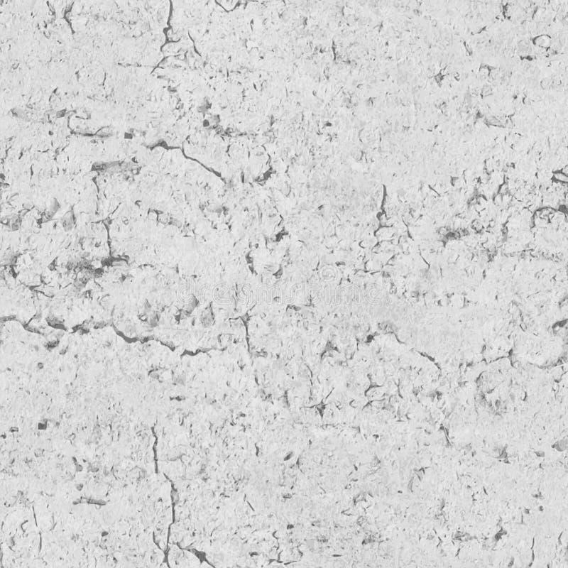 Realistycznej betonowej ściany wektorowa bezszwowa tekstura ilustracja wektor