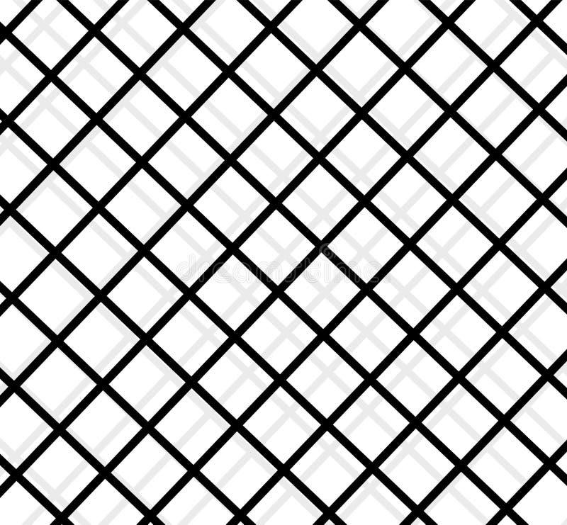 Realistyczni metalu więzienia grilles Thuster maszyna, żelazna cela więzienna kruszcowy produkt kwiecisty struktury gradientów il royalty ilustracja