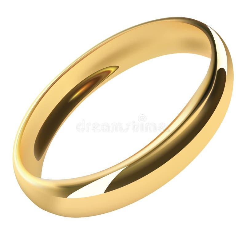 Realistyczny wektoru pierścionek ilustracja wektor