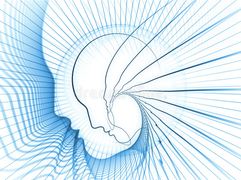 Download Reality of Soul Geometry stock illustration. Image of mental - 35659593