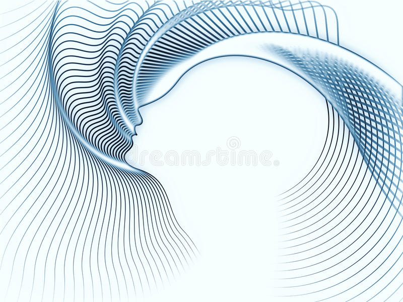 Reality Of Soul Geometry Stock Photography