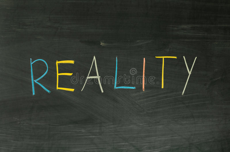 Download Reality stock photo. Image of phrase, white, education - 40410444