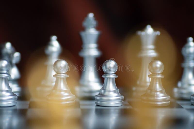 Realizar em posição, a defesa e o ataque imagens de stock royalty free