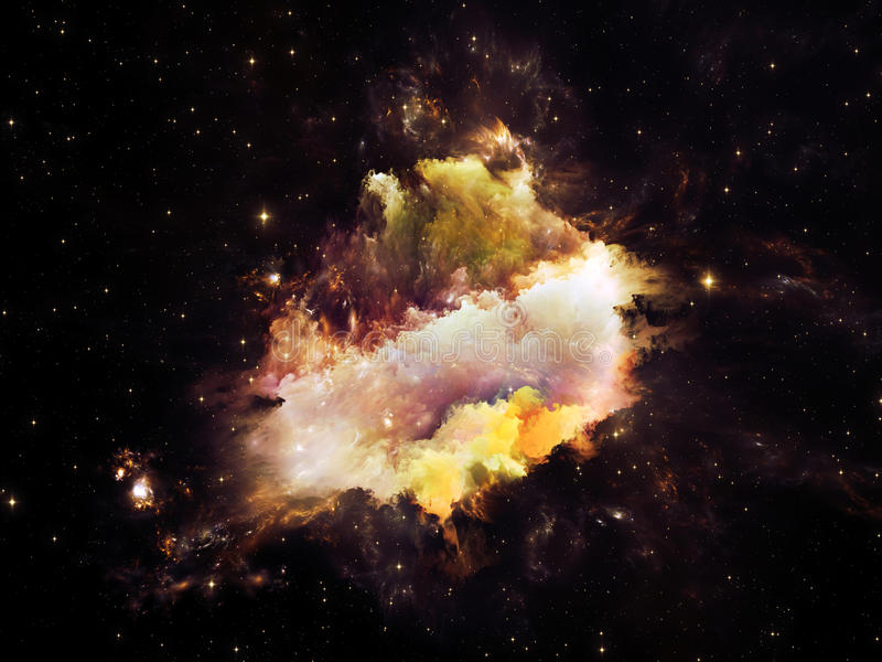 Download Realms of Nebula stock illustration. Illustration of light - 37434661