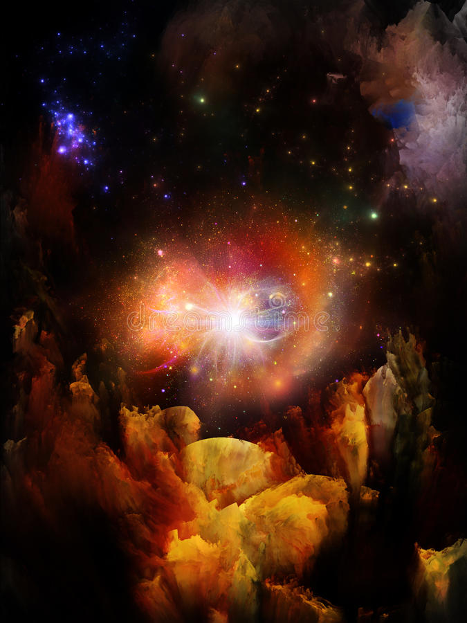 Free Realms Of Fractal Dreams Stock Photos - 29433173
