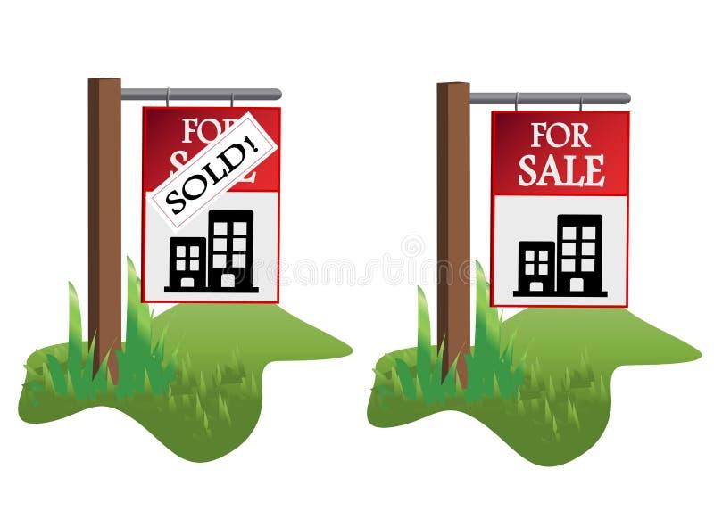 Realstate illustaration vector illustration
