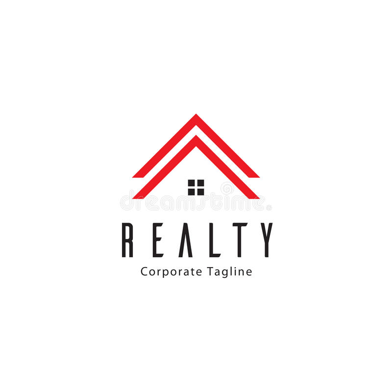 Realtà Logo Template royalty illustrazione gratis