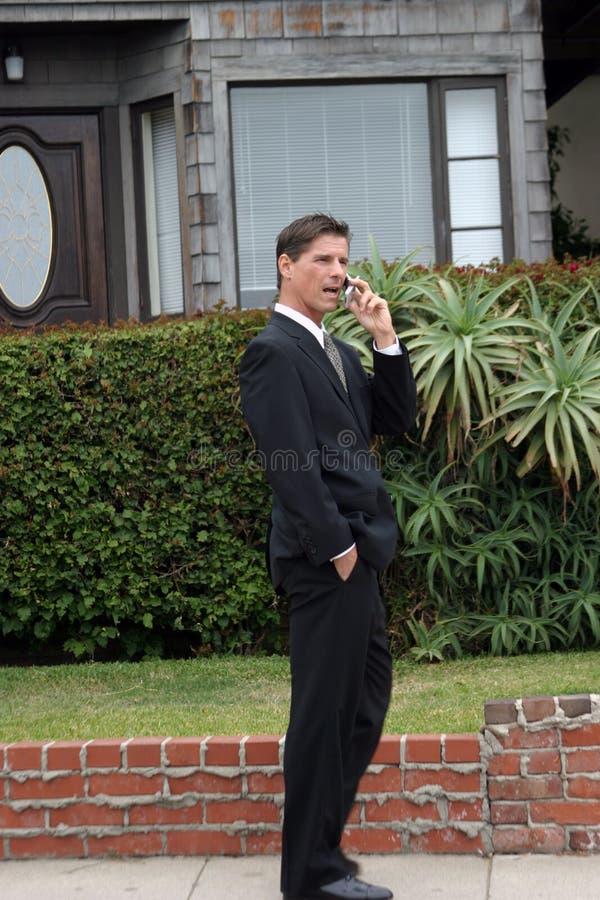 Realtor, business man, Series stock photo