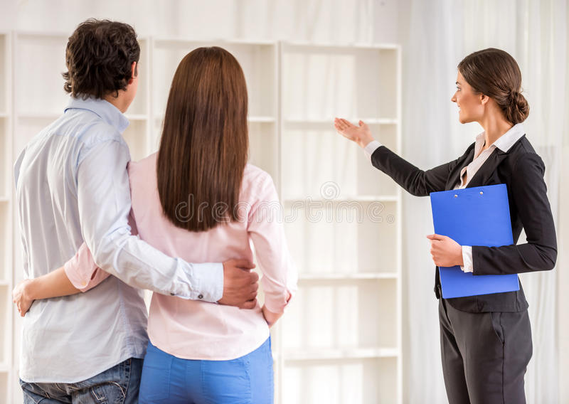 Download Realtor stock photo. Image of casual, estate, agents - 53533640