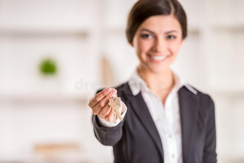 Download Realtor stock image. Image of leasing, manager, agents - 53533351