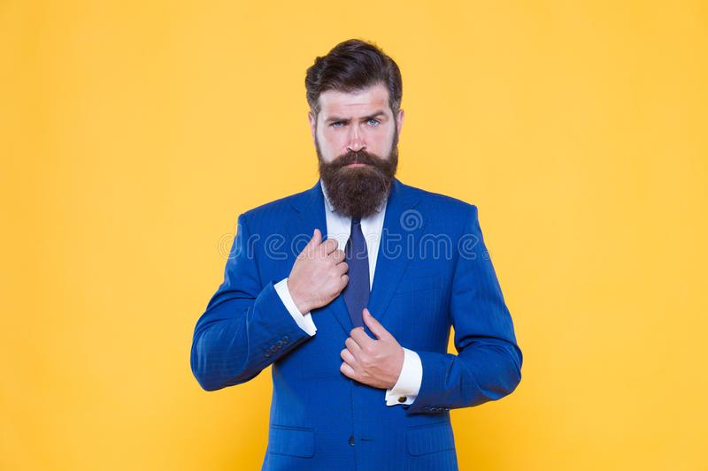 Realtor marketing. male fashion. successful and charismatic lawyer. leadership concept. life management. superior. Business solutions. businessman formal suit royalty free stock image