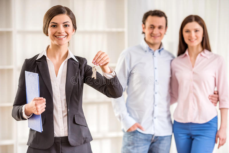Download Realtor stock photo. Image of background, happy, agent - 53533696