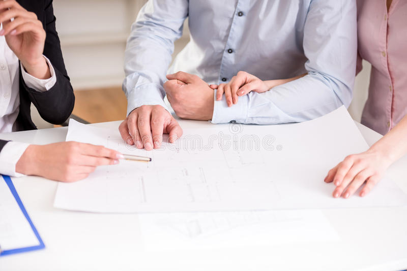 Download Realtor stock image. Image of consultation, contract - 53533741