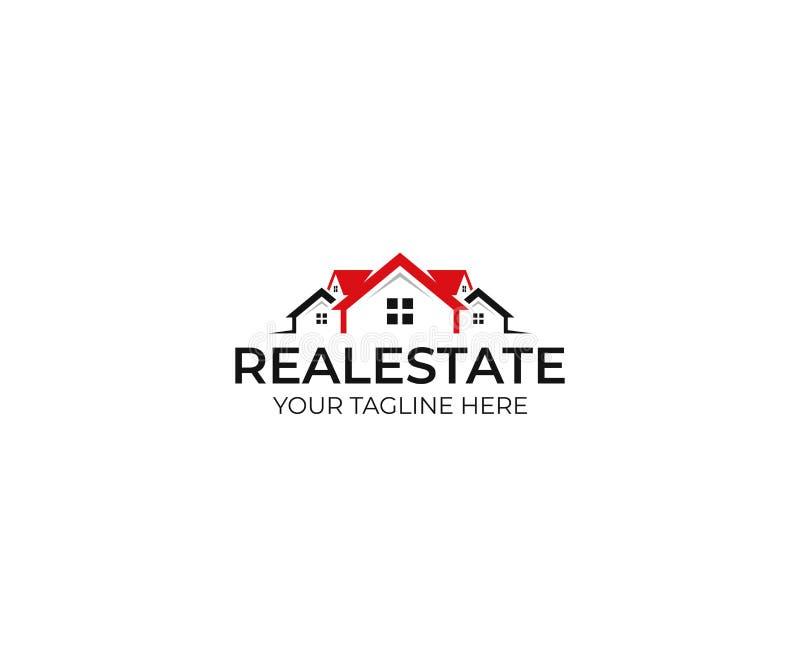 Realty logo template. House vector design vector illustration