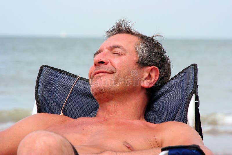 Download Realxing stock image. Image of sleeping, smiling, senior - 2970949