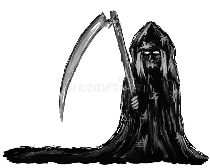 Reaper royalty free illustration