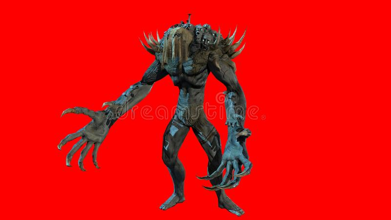 Reaper 3d rendre images stock