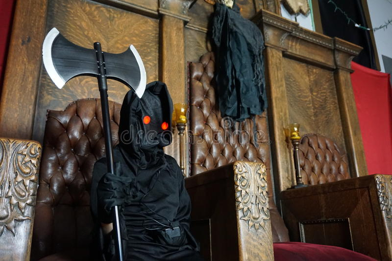 Reaper sinistre images libres de droits